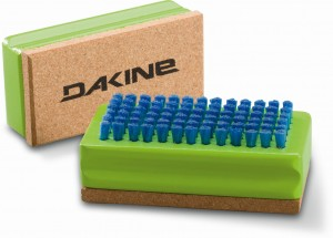 SZCZOTKA DAKINE NYLON / CORK BRUSH GREEN