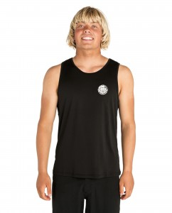 Lycra RIP CURL SEARCH SURFLITE UV TANK BLACK 2019