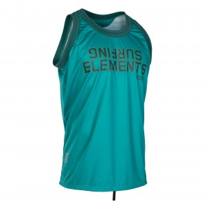 Koszulka ION BASKETBALL SHIRT WETSHIRTS SEA GREEN/DARK BLUE 2019