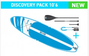 EXOCET SUP DISCOVERY 10'6 ENTRY PACK THE INFLATABLE WATERSPORT MULTI-TOOL 2020