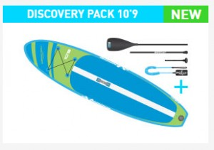 EXOCET SUP DISCOVERY 10'9 ENTRY PACK THE INFLATABLE WATERSPORT MULTI-TOOL 2020