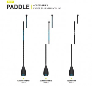 Wiosło EXOCET PADDLE EASIER TO LEARN PADDLING 3 PARTS 2019