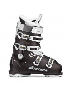 BUTY NARCIARSKIE NORDICA THE CRUISE 75 W	BLACK P.-WHITE-BRONZE 2020