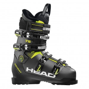 Buty Narciarskie Head ADVANT EDGE 75 ANTH / BLACK - YELLOW 2020