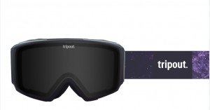 Gogle Blaze Galaxy Black Polarized