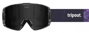 Gogle Galaxy Black Polarized