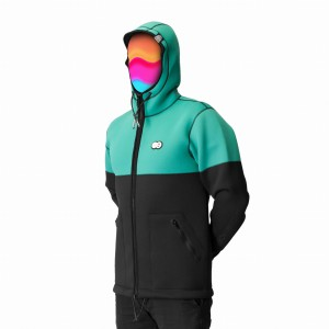 Kurtka UNDA NEOHOODIE COLOR MINT 2018