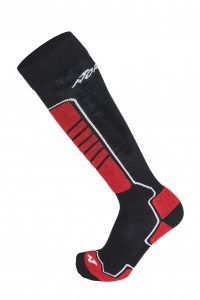 Skarpety Nordica All Mountain 2pp Black/Red + Red/Black