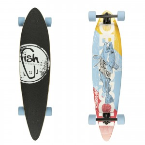 Longboard DerDorsch/Black/Summer Blue