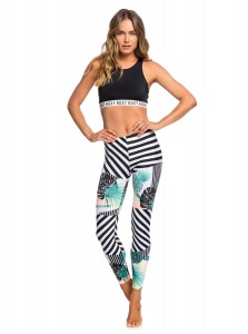 LEGINSY LYCROWE ROXY POP Surf UPF 50 Surf Leggings 2019