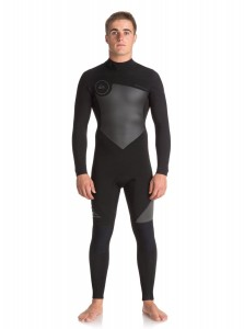 Pianka Quiksilver 4/3mm Syncro Series Back Zip GBS Wetsuit 2019