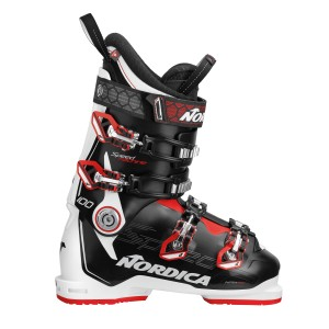 BUTY NARCIARSKIE NORDICA SPEEDMACHINE 100 BLACK-WHITE-RED 2019