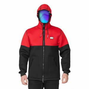 Kurtka UNDA NEOHOODIE COLOR RED 2018