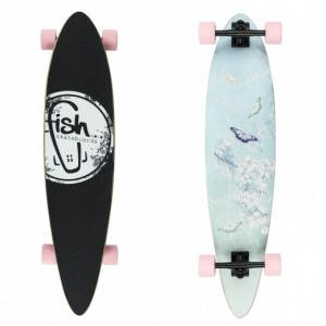 Longboard Butterfly/Black/Summer Pink