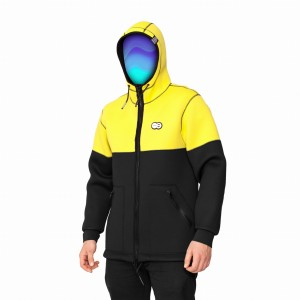 Kurtka UNDA NEOHOODIE COLOR YELLOW 2018