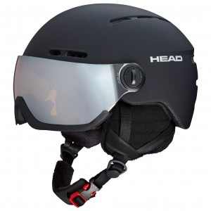 KASK HEAD KNIGHT BLACK 2019