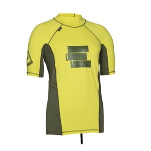 Lycra ION Rashguard Men SS  Yellow 2016