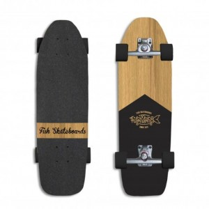 FISH SKATEBOARDS SURFSKATE Bumblebee