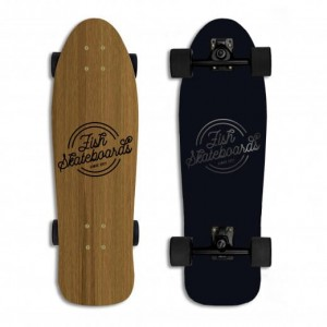 FISH SKATEBOARDS SURFSKATE Golden Bullet