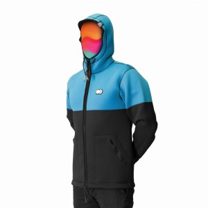 Kurtka UNDA NEOHOODIE COLOR BLUE 2018